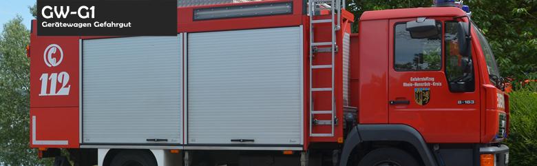 Gerätewagen Gefahrgut (GWG 1)