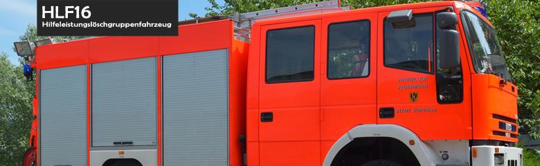 Hilfeleistungslöschgruppenfahrzeug (HLF 16)